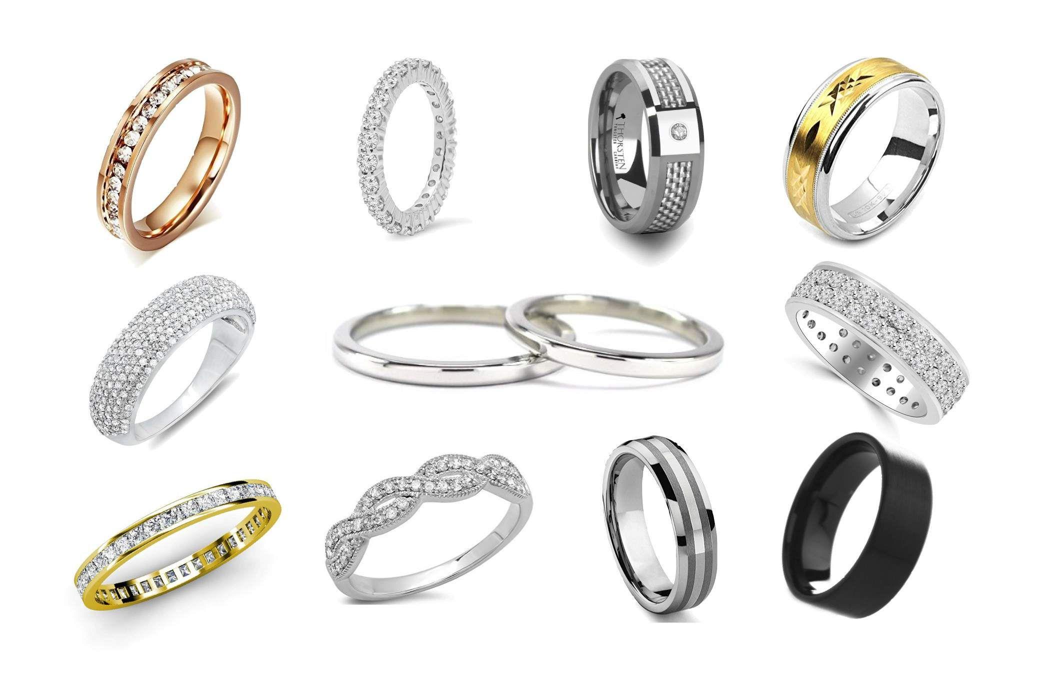 Top 50 Wedding Bands For Men Women Cool Wedding Rings Wedding Rings Mens Wedding Rings