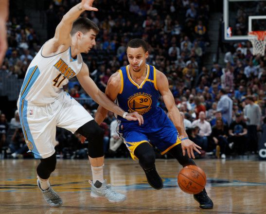 Warriors Downed by Denver Nuggets Tie NBA Record With 24 Three-Pointers Posted: Feb 13, 2017