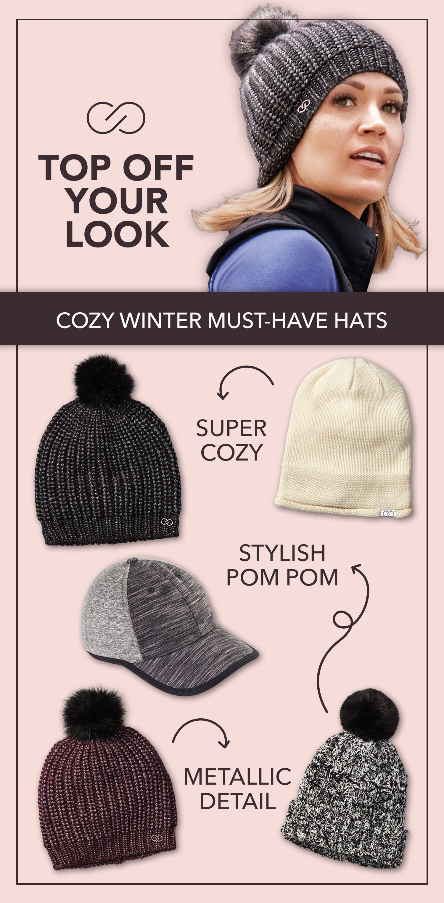 149b8da39 Top off your winter look with these cozy hats that are sure to keep ...