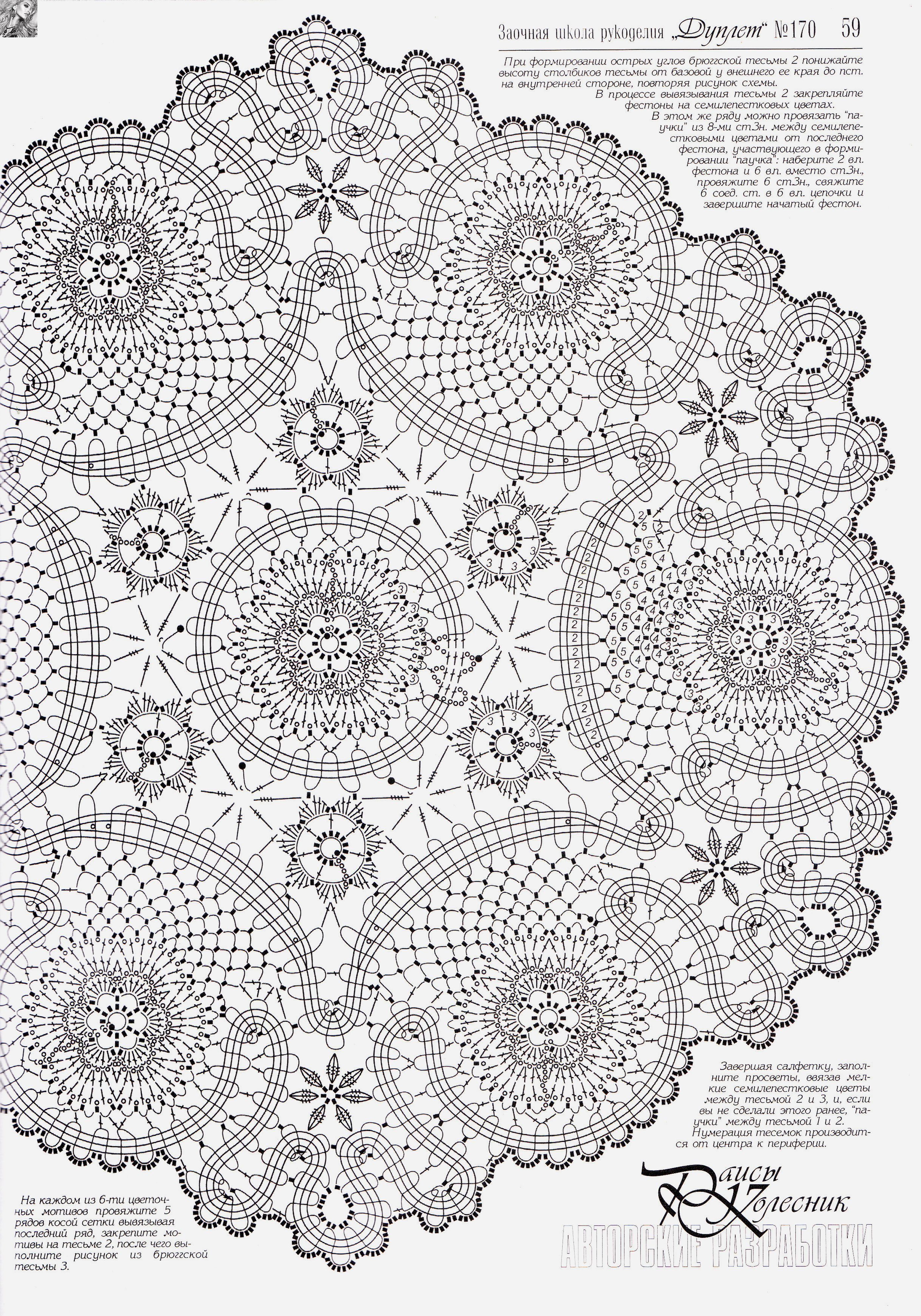 Crochet Doily Diagram Patrones Crochet 2 Crochet Patterns 2 Pin ...