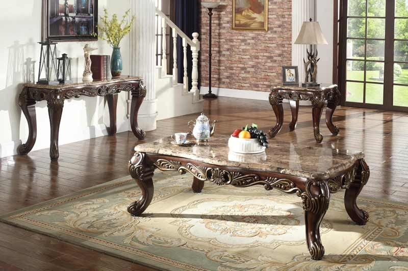 . McFerran Home Furnishings   T5190 3 Piece Occasional Table Set in