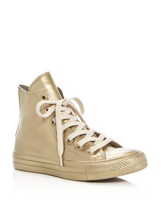 Converse Converse Chuck Taylor All Star Metallic High Top Casual Shoes, Size: M6.5W8.5, Bronze from DICKS Sporting Goods | ShapeShop