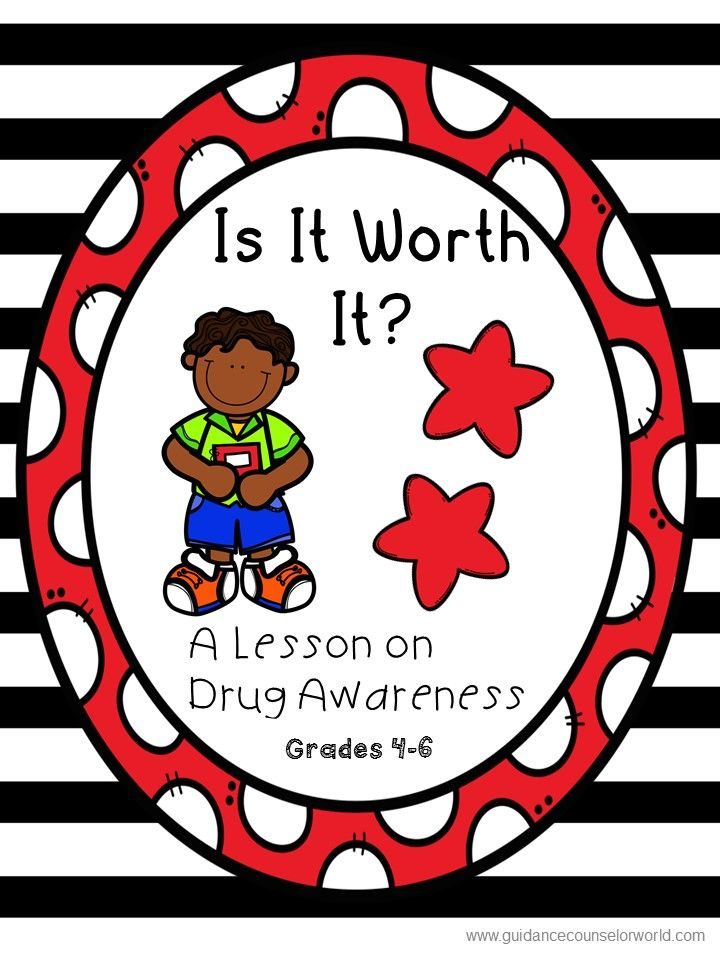 Guidance Lesson On Drug Awareness For Grades 4 6 Teach Kids How To