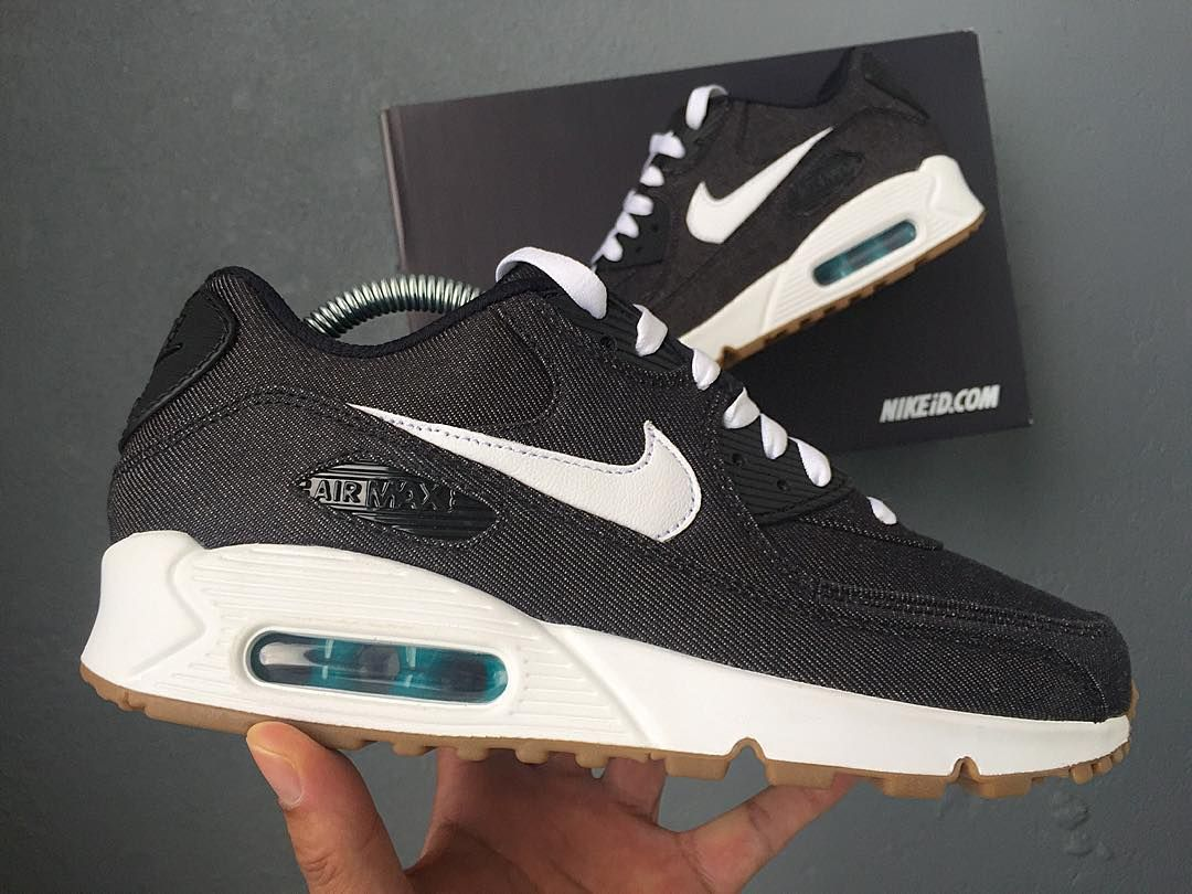 wholesale dealer be382 65a40 Nike Air Max 90 x Black Denim. Find this Pin and more on nike by Matthew  Gerken.