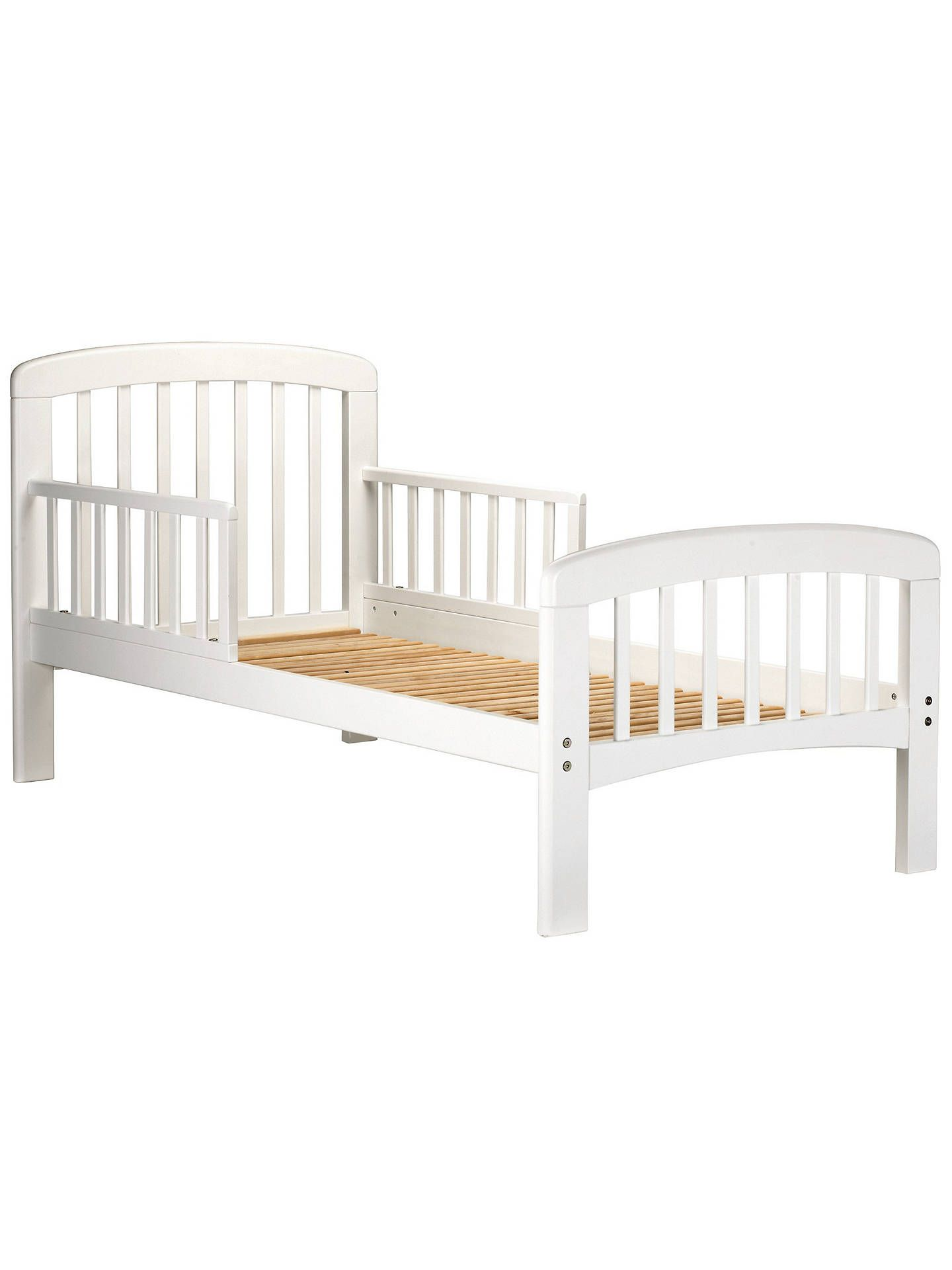 John lewis u partners anna junior and toddler bed white in