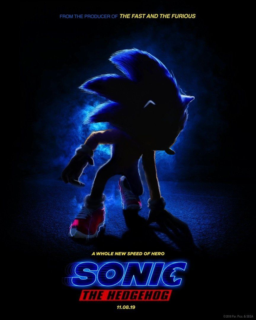 Sonic Movie Poster Modified Cool Crap Pinterest Sonic The