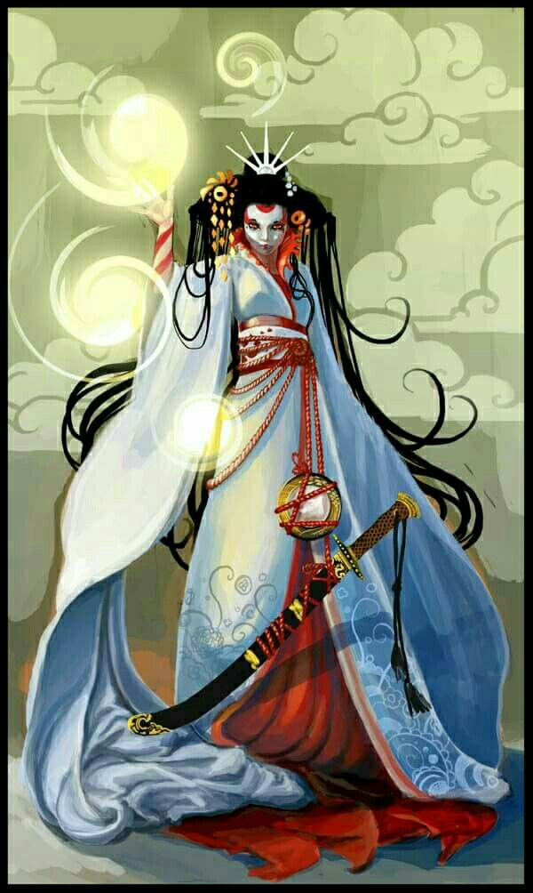Drawings By Sequoia Hickman Amaterasu Japanese Mythology