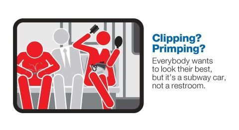 Is It Really the MTA's Place to Tell Us Not to Put on Makeup on the Subway?