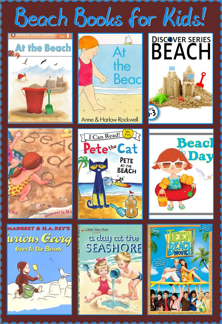 9 Good Beach Books for Kids Beach books, Beach theme