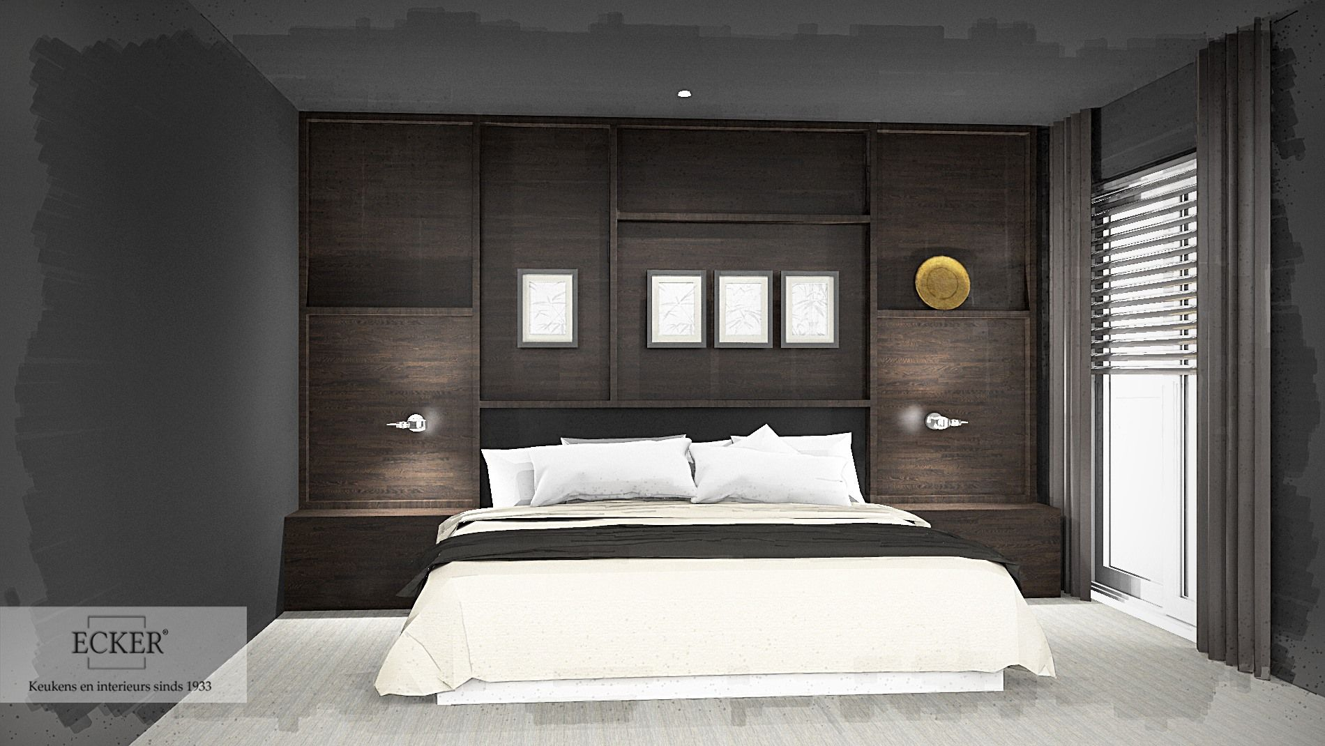 sfeerbeeld nieuwe slaapkamer | maatwerk | pinterest, Deco ideeën