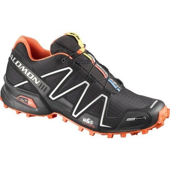 Salomon Spikecross 3 Cs Trail Running Shoes Mens Black