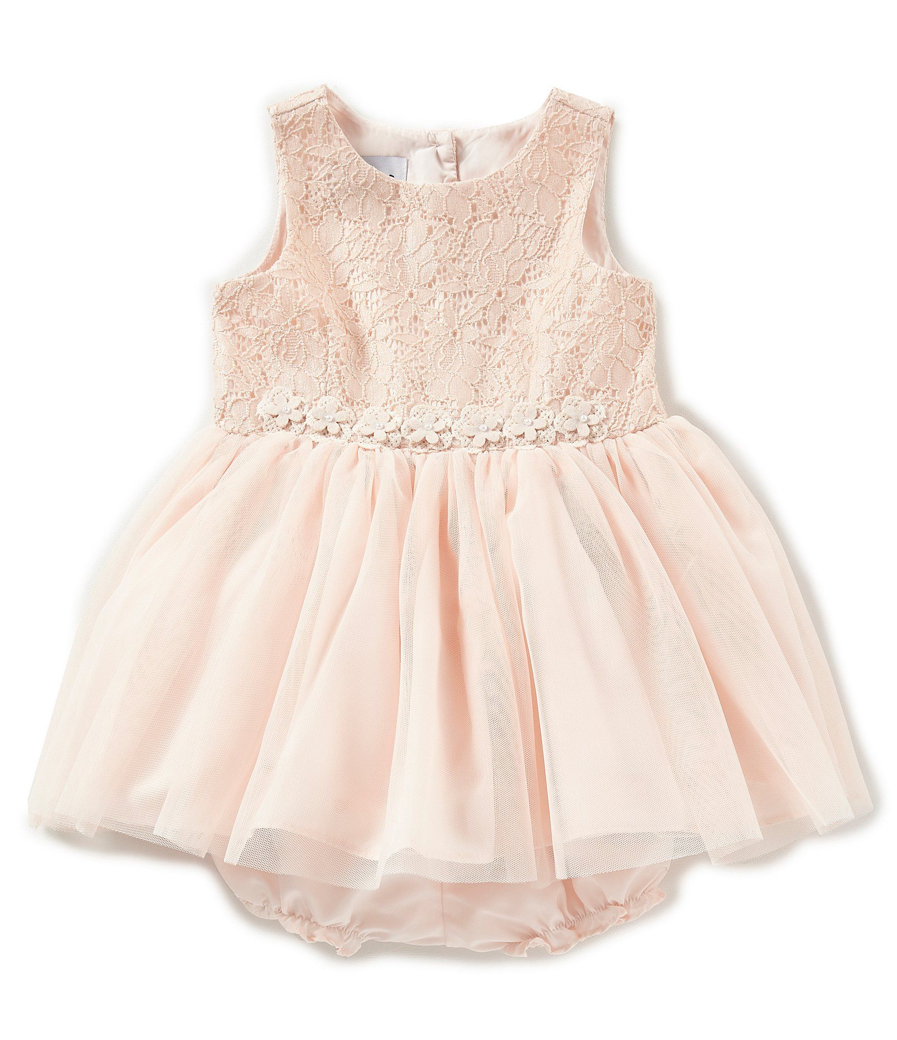 a806a9b0bc7 Pippa   Julie Baby Girls 12-24 Months Lace Tulle Fit-And-Flare Dress   Dillards