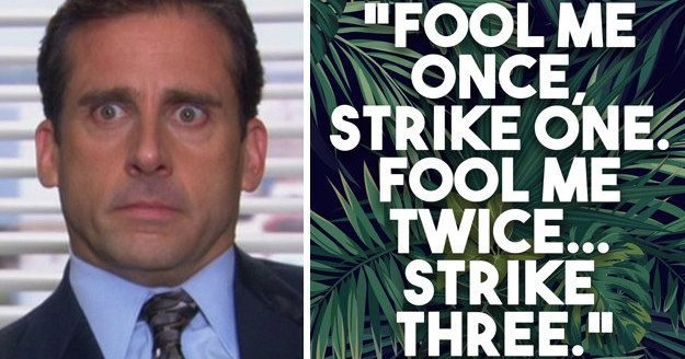 Michael Scott Quotes Exercise