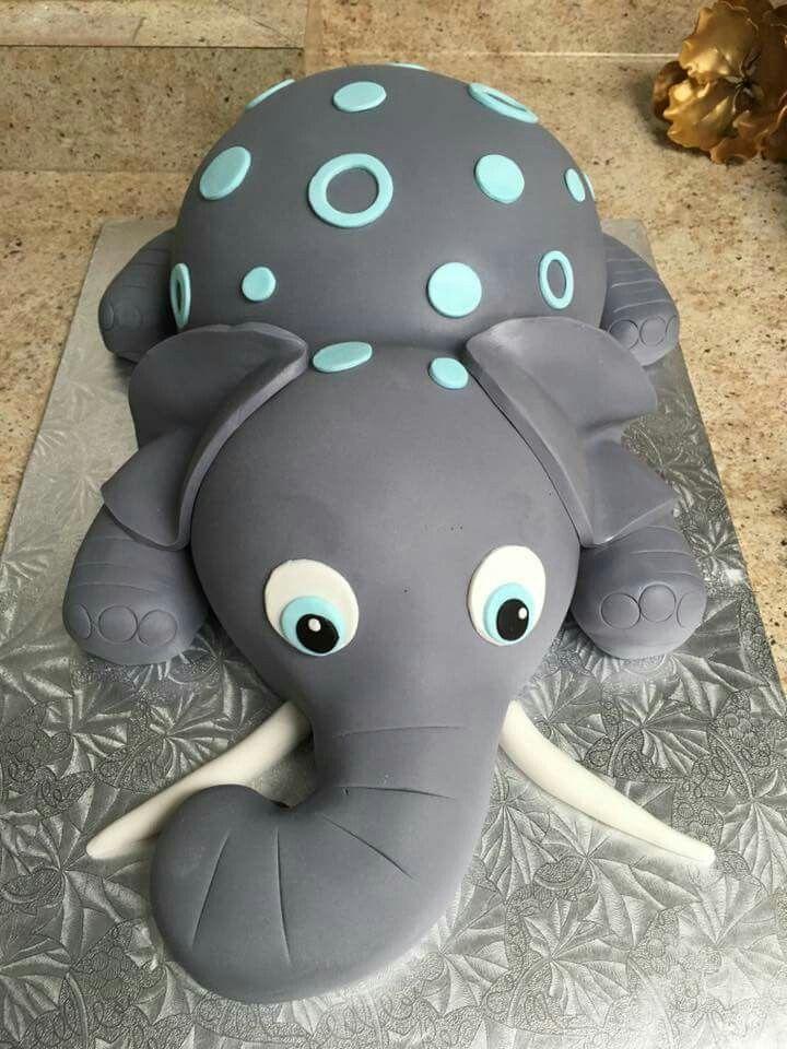 Elephant cake... too cute