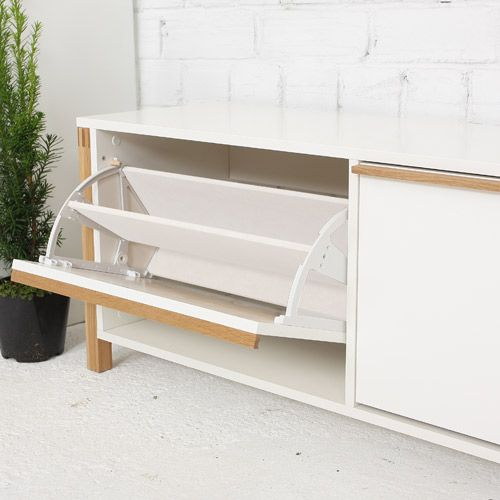 banc meuble chaussures ch ne laqu blanc northgate. Black Bedroom Furniture Sets. Home Design Ideas