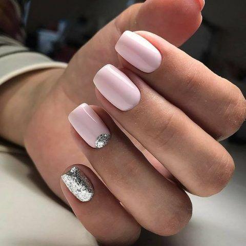 30 Gorgeous Winter Wedding Nails Ideas Bridal Nails Bridal Nail