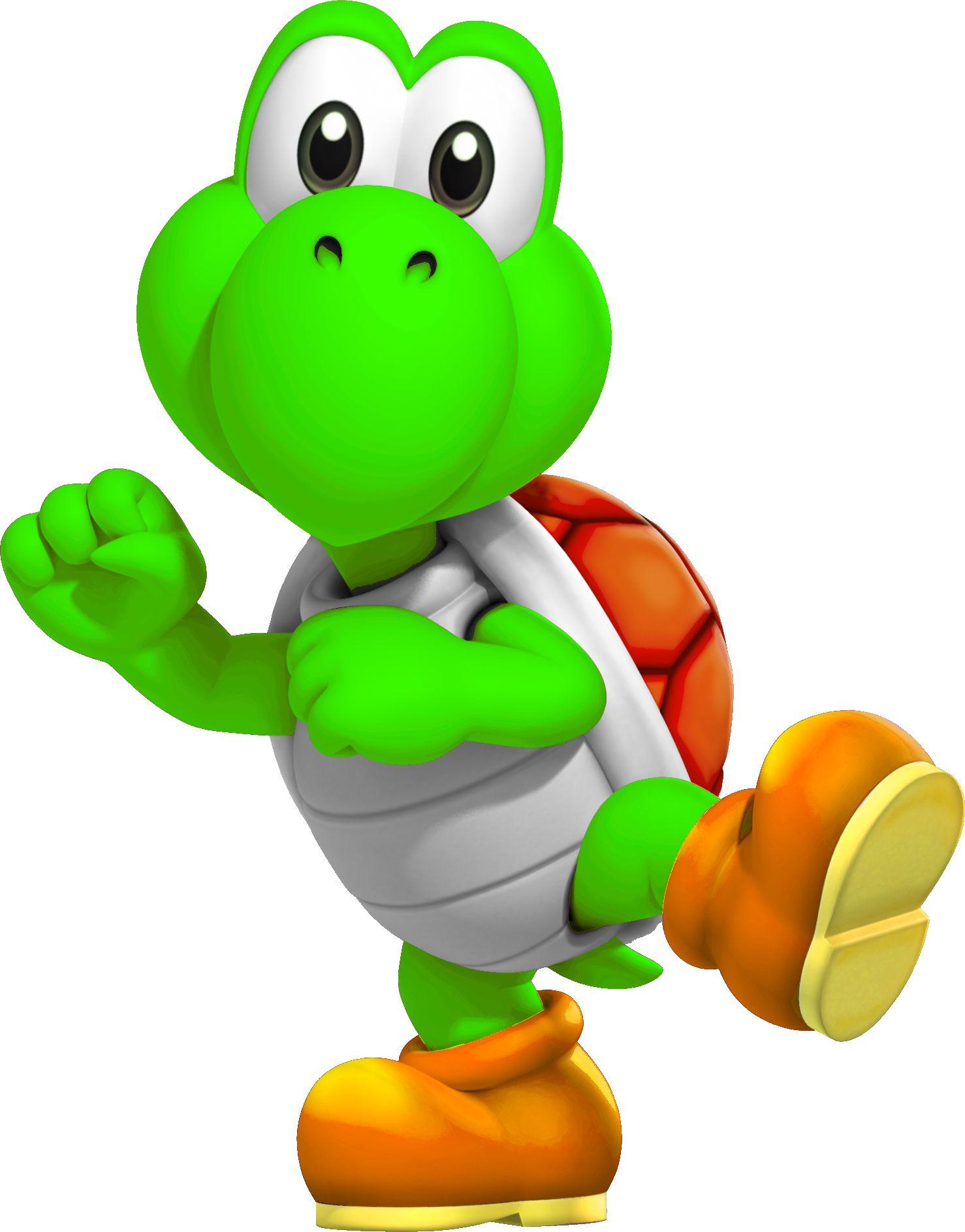 Yoshi Troopa Super Mario Bros Party Mario Bros Party Mario And
