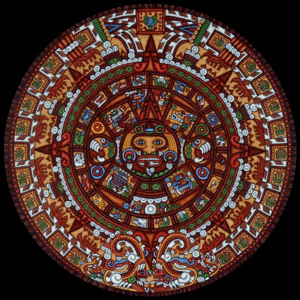 Aztec Calendar Art Lesson : Aztec calendar by eric dowdle international cities