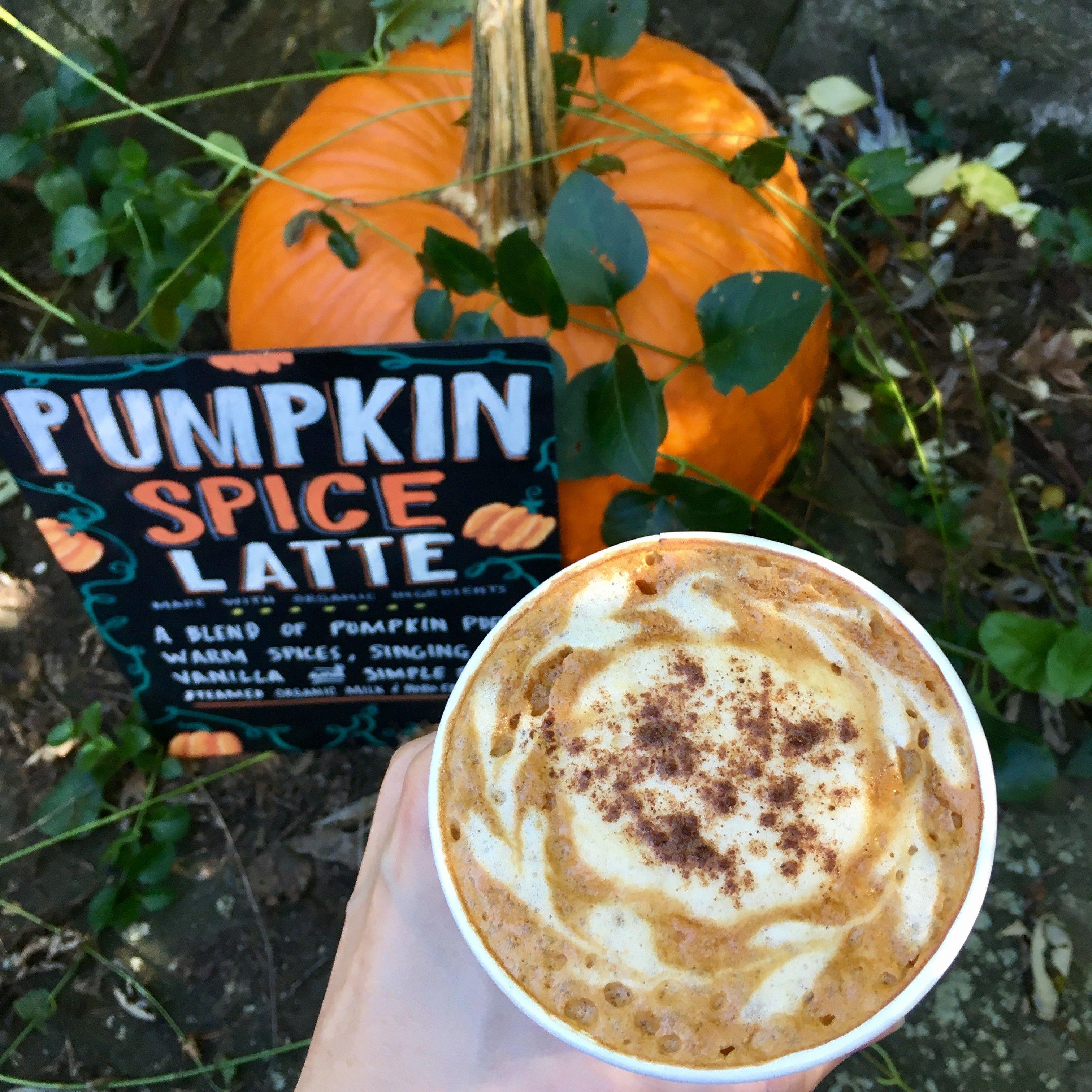 Pumpkin Spice Latte, Prepared