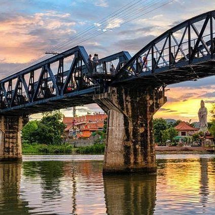 Most na reci Kvaj je veoma zanimljiva atrakcija, kako za Tajlanđane, tako i za