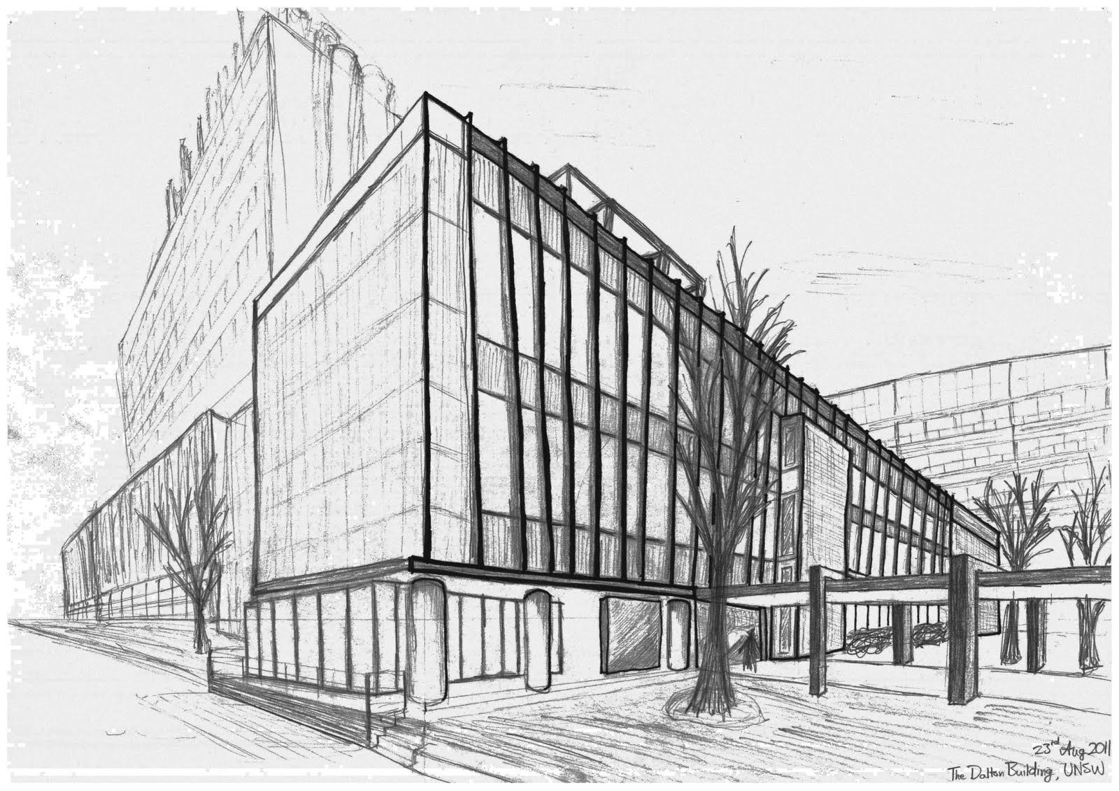 Architecture Buildings Drawings perspective drawing of buildings - google search | perspective