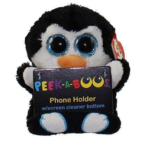 e1e6cd32801 Penguin Peek A Boo Ty Phone Holder Penni Cell Kids