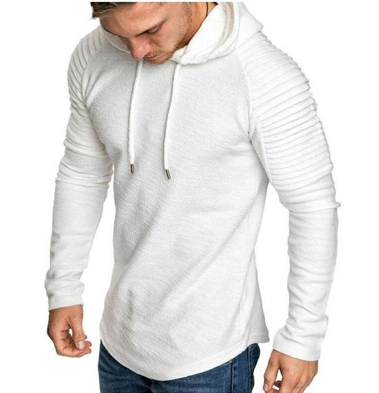 7fc63c82d 2018 New Mens Hoodies Brand Fashion Men Solid Color Sweatshirt Male ...