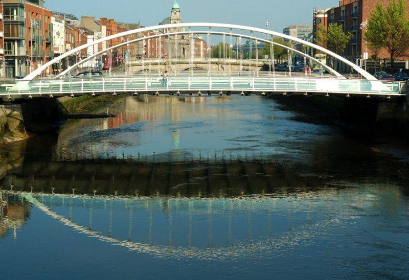 calatrava james joyce bridge - Szukaj w Google