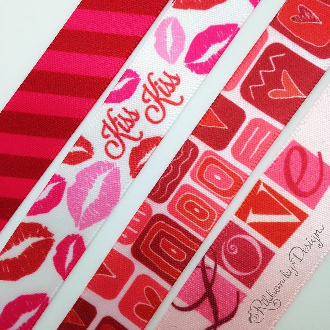 More Valentine's ribbons to make your gifts extra special.