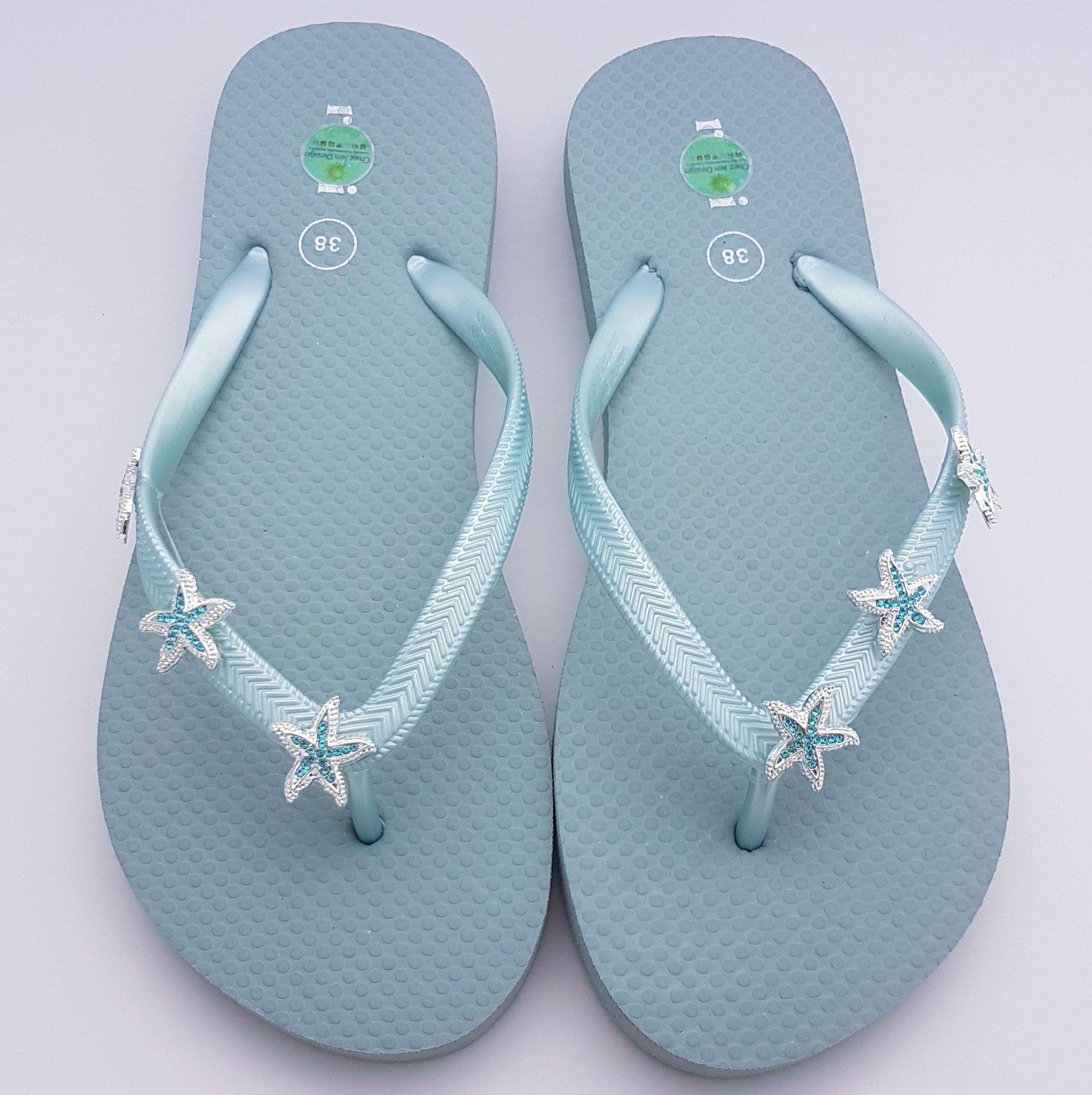 lime green flip flops