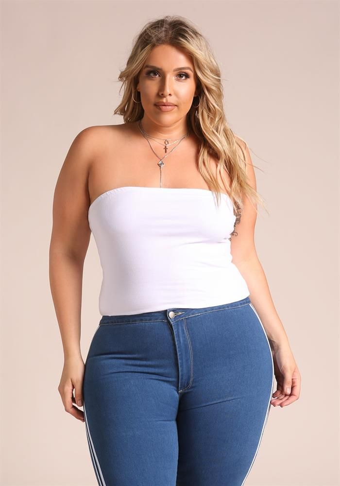 Plus size girls tube