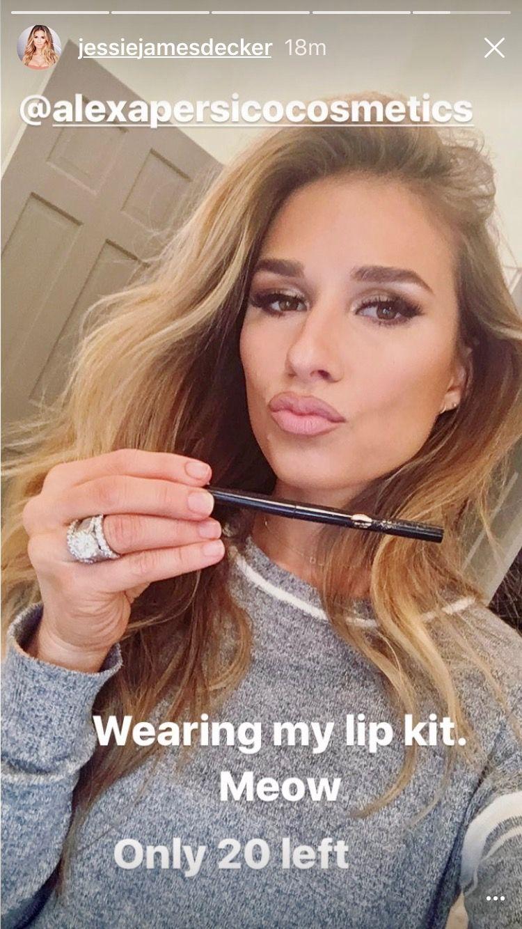 Jessie James Decker Makeup Look Jessica Rose Pinterest Jessie