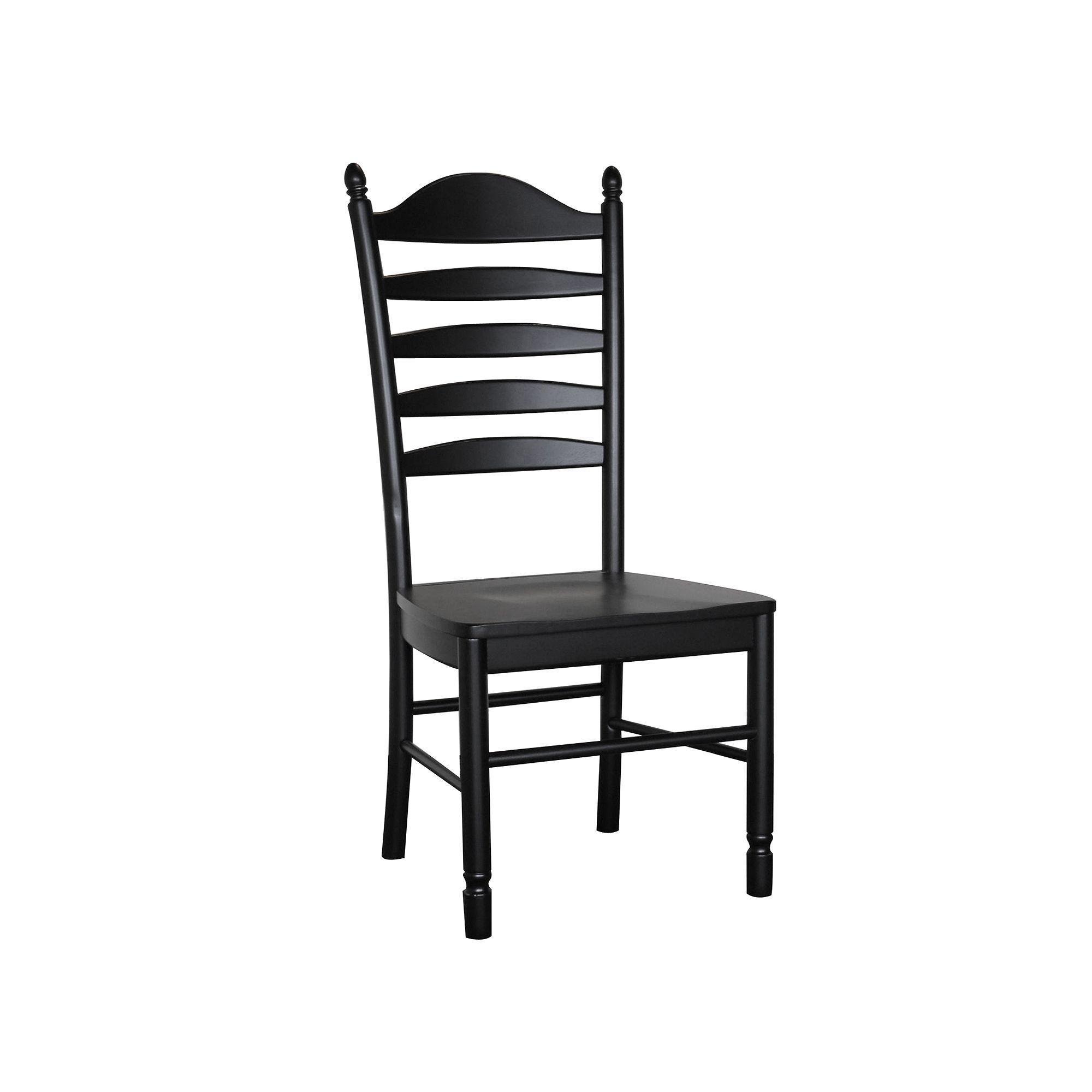 Carolina Cottage Whitman Dining Chair, Black | Dining ...