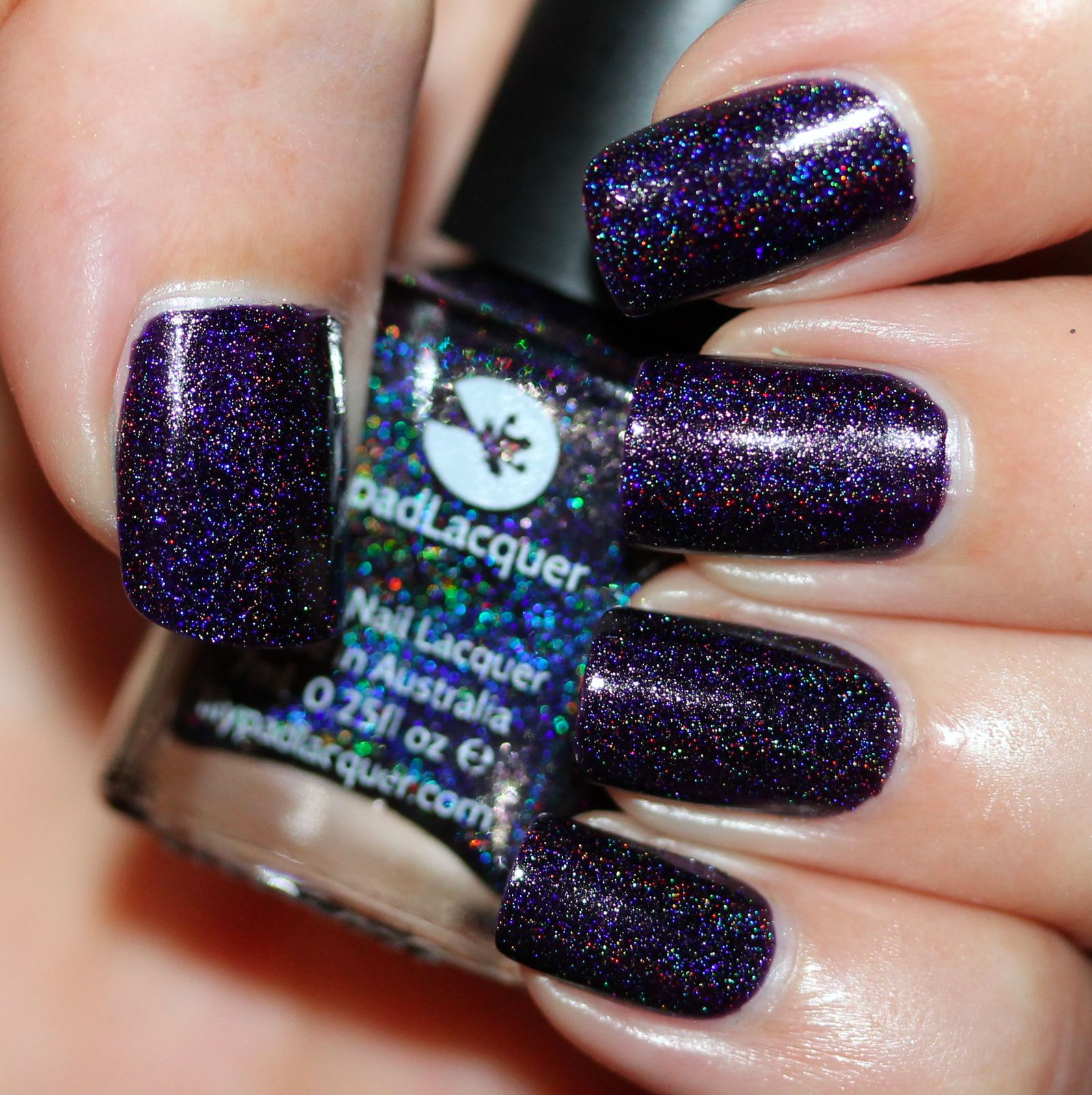 Lilypad Lacquer NIghtshade (2 coats, no top coat) | #Swatches ...