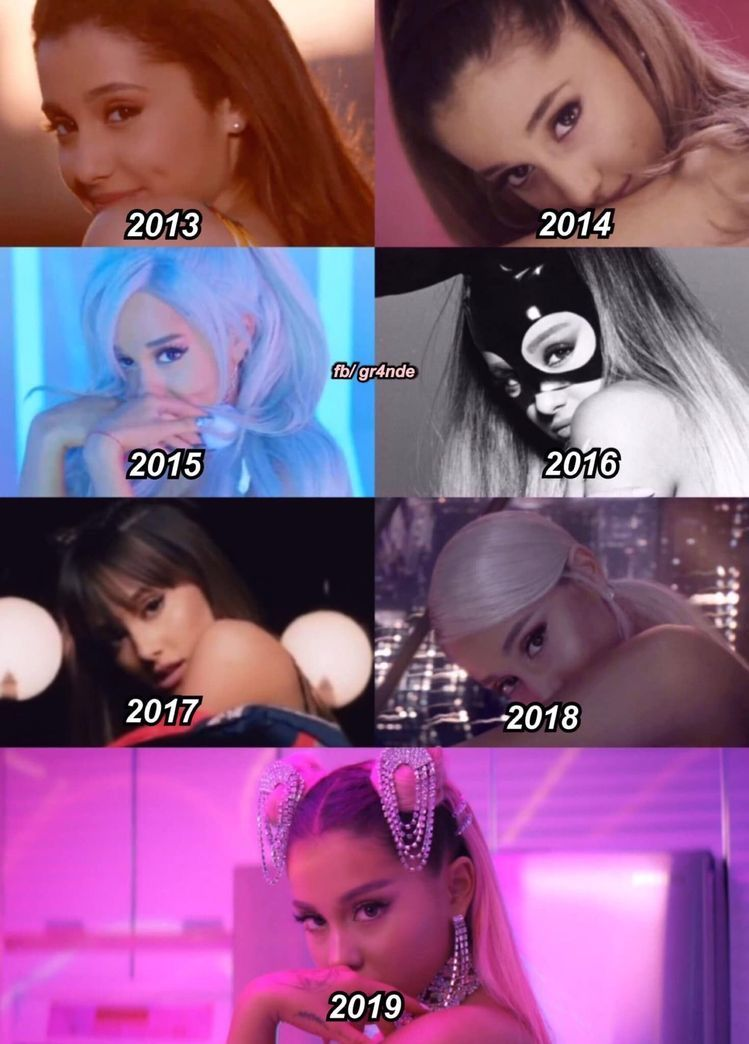 """From """"Glow Up"""" in """"Ariana Grande"""""""