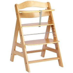 Hauck Alpha Grow With You Wooden Highchair Natural Amazon Co Uk Baby High Chair Cool Chairs Baby Seat