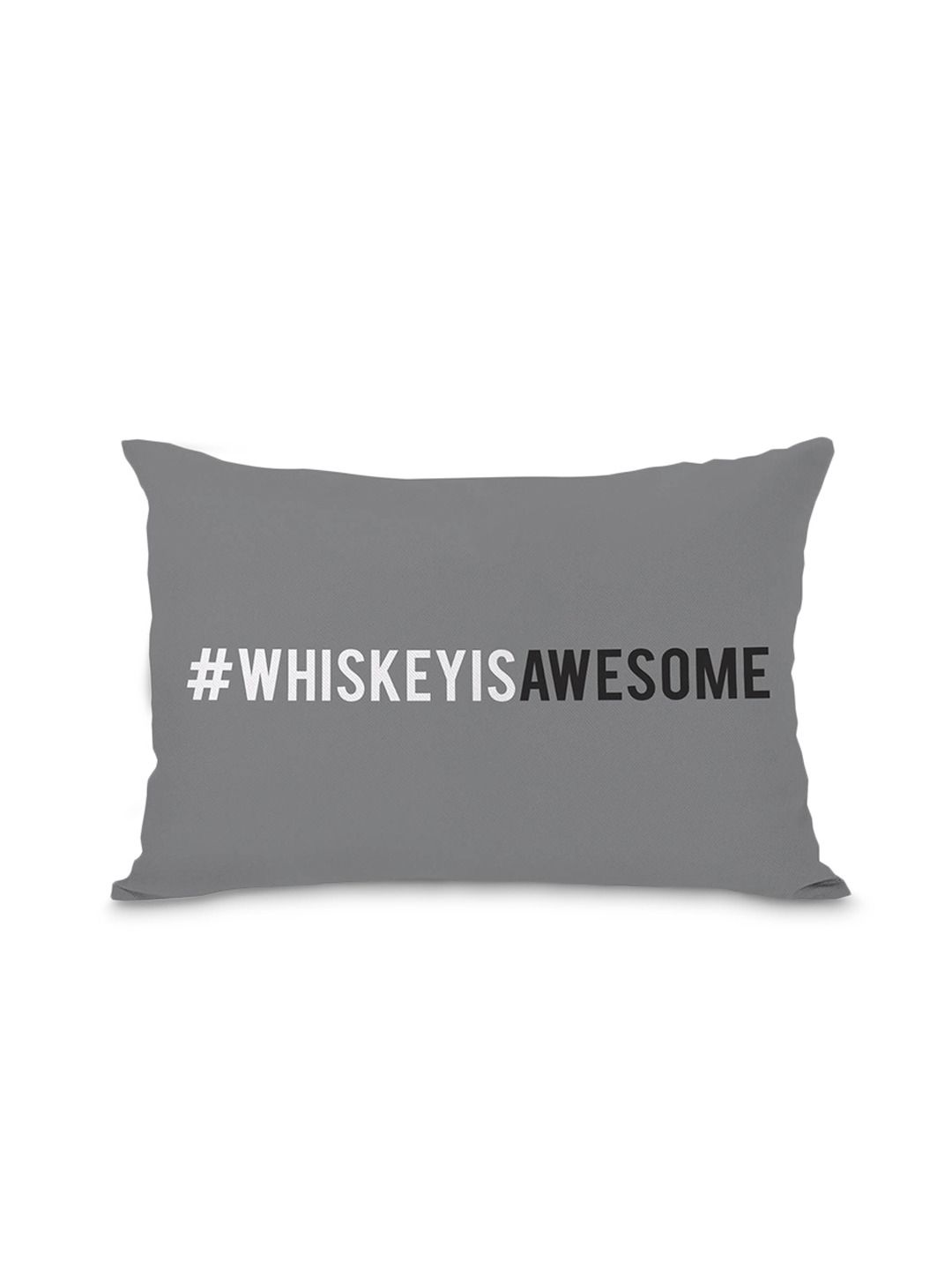 Hashtag Whiskey Is Awesome Whiskey Is Evil Pillow Gilt Home Pillows Bed Pillows Throw Pillows