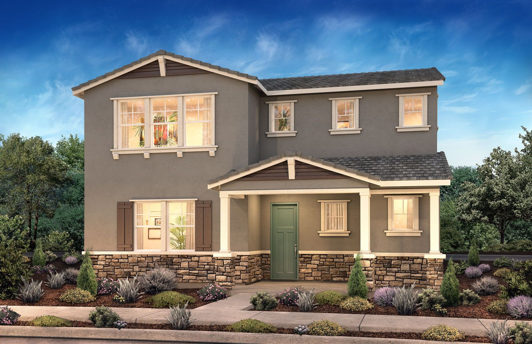 Residence 1 At Prescott New Neighborhood In Mountain House