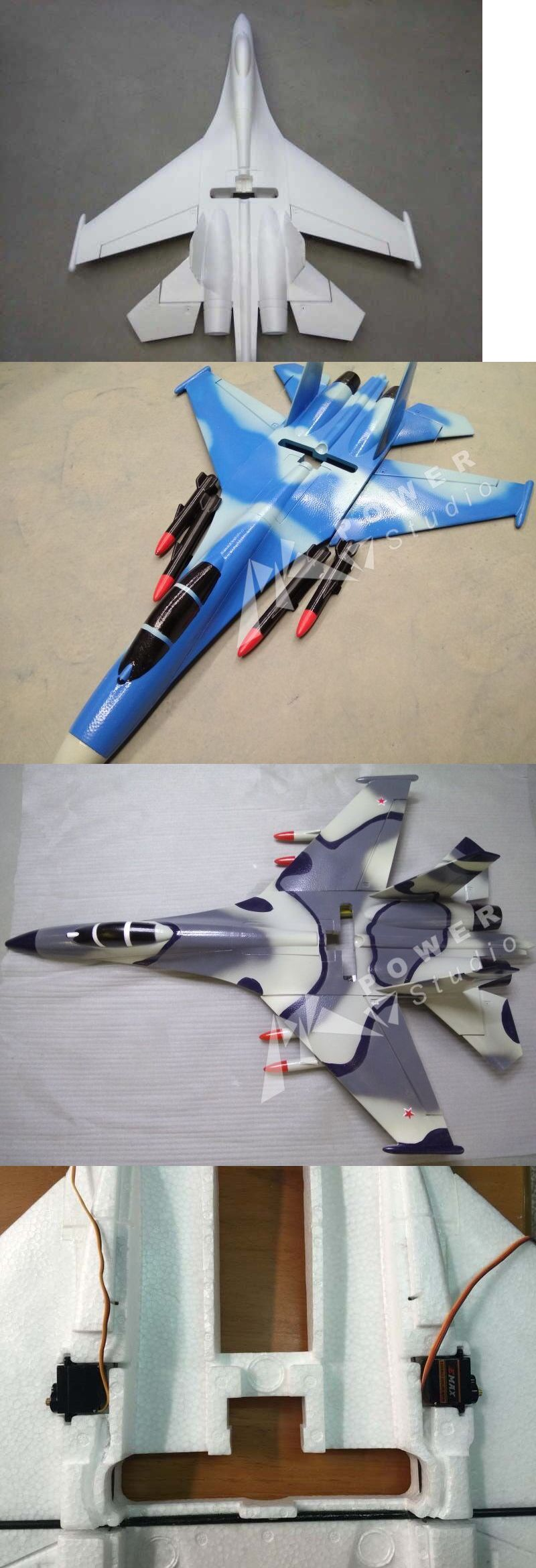 RC Model Vehicles and Kits 182181: 28In Sukhoi Su-27 35 720Mm Wingspan Epo Pusher Jet Fighter Rc Plane Unpainted -\u003e BUY IT NOW ONLY: $25 on #eBay #model ...