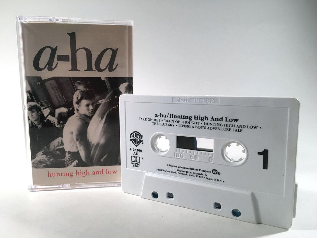A Ha Hunting High And Low Cassette Cassette Cassette Tapes
