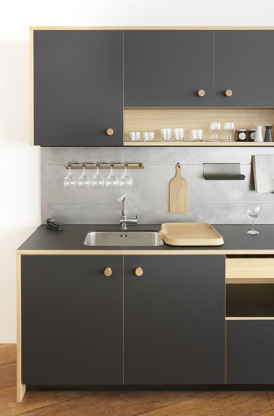 La cuisine par Jasper Morrison | Pinterest | schwarze Küchen, Küche ...