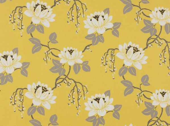 Floral pattern fabric - KIMURA - ROMO www.designerfabricsusa.com Guaranteed Lowest prices online!