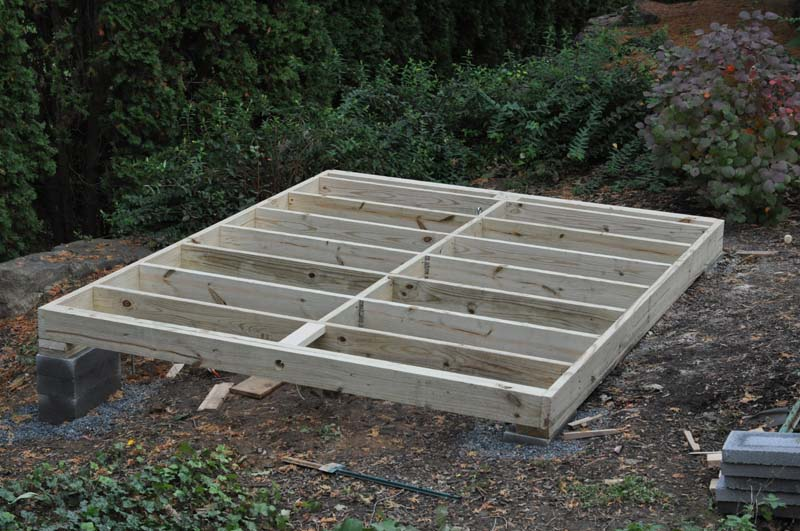 Darmin Building A Shed Foundation With Sonotubes Building A Shed Shed Floor Shed