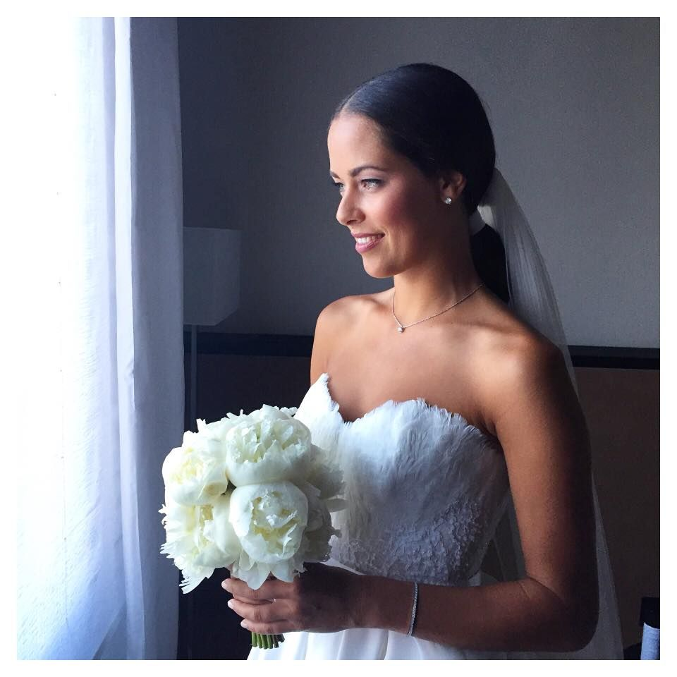 Ana Ivanovic  Schweinsteiger hochzeit, Braut, Hochzeit