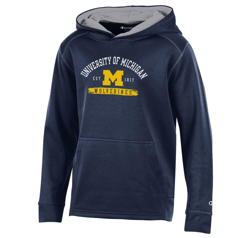 University Of Michigan Wolverines Champion Boys Youth Athletic Fleece Hood Sweatshirt Hoodie Cb18dryea9s Sweatshirts Hoodie Hooded Sweatshirts University Of Michigan Wolverines [ 1500 x 1500 Pixel ]
