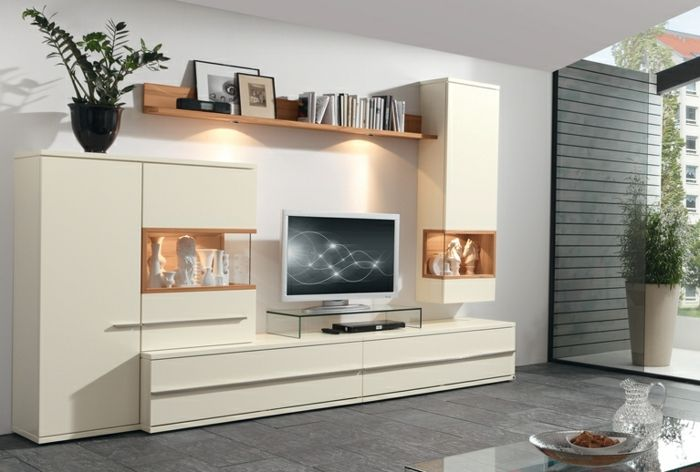 Wohnwand Weiss Ikea Bett Im Schrank Gebraucht Betten Hause