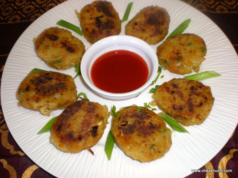 Noodle Cutlets Are Easy To Make Indo Chinese Appetizer Fusion