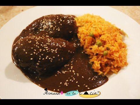 Cómo Hacer Mole Rico Y Muy Fácil Nadie Creerá Que Es De Vaso Youtube Authentic Mexican Recipes Recetas De Comida Mexicana Receta De Mole
