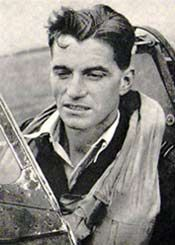 Johnnie Johnson. Top-scoring RAF ace in WWII with 34 victories.