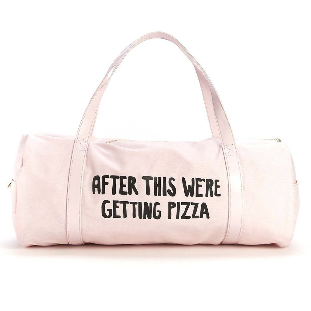 Pizza Gym Bag #Under-$50 #For-Couples #For-Women